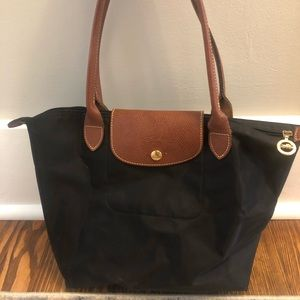 Longchamp Small Le Pliage Nylon Shoulder Tote